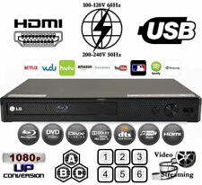 Lg Bp25 Region Free Blu-Ray Player & Dvd for WorldWide Use, Usb, Hdmi, Codefree