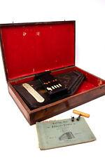 "MÜLLER Akkordzither ""Monopol"" Manualzither m. 6 Manualen Schleiflack Zither 1890"