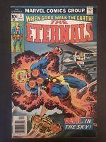 Eternals 3 1976 first print original Marvel Comic Book 1st Sersi Angelina Jolie