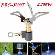 BRS-8 Tragbar Split Typ Zelten Ofen Brenner Set /& Fuel Flasche Schlauch Pumpe