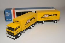 ± LION CAR DAF 2800 TRUCK WITH TRAILER TNT IPEC NEAR MINT BOXED