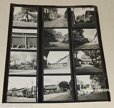 Ancienne PLANCHE CONTACT Reportage Photo Entrepôts de BERCY Vins F. FANTON ...