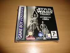 STAR WARS TRILOGY APPRENTICE OF THE FORCE FOR NINTENDO GBA NEW FACTORY SEALED