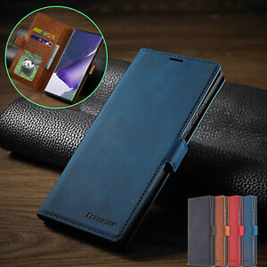 For Samsung Note 20 Ultra 5G Case Luxury Leather Wallet Flip Card Slot Cover