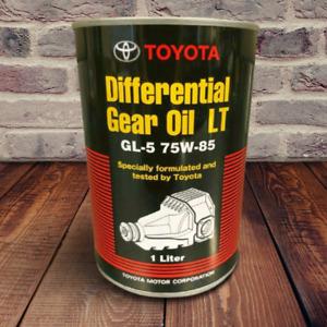 TOYOTA/LEXUS DIFFERENTIAL GEAR OIL LT GL-5 75-W85 1 LITER 08885-02506