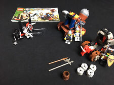 Lego 6032 7091 Knights Kingdom - Catapult Crusher + Catapult Defense complete