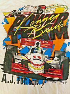 AJ Foyt Racing Garage Sale - 1998 IndyCar Championship Tee - Kenny Brack