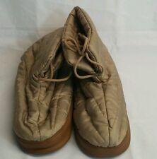 Ladies Polar boots thermal warm indoors feet warmers Camel Med 6 1/2- 7 1 /2