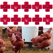 Chicken Automatic Drinker Animals Poultry Watering Nipple Drinking Fountains