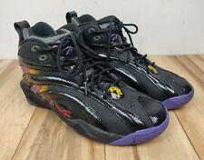 Reebok Retro Shaqnosis OG Shaq Basketball Shoe LA Lakers Gold Purple Size 10