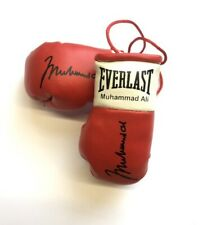 Autographed Mini Boxing Gloves Muhammad Ali  (The Greatest) (highly collectible)