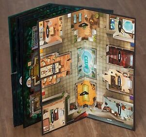 Lot of 5 Clue Game Boards ~ Boards only