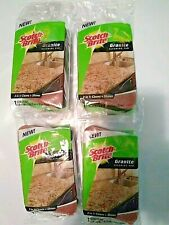 4X Scotch Brite Granite Cleaning Pads New