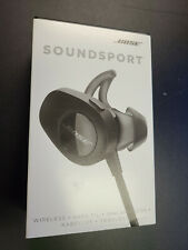 New in Box Bose SoundSport Wireless In-Ear Headphones 761529-0010 - Black