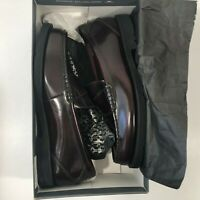 NEW Rockport 11W Men's Shoes K53881 Burgundy Penny Loafers Dress shoes