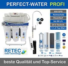 Osmoseanlage Ultimate PLUS Pro 600 GPD direct flow Umkehr Osmose Wasserfilter