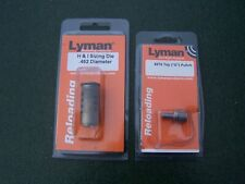 """Lyman H&I Sizing Die .452 with #374 Top (""""G"""") Punch used in blister packages"""