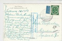 Germany 1953 Todtmoos Cancel Obligatory Tax Aid for Berlin Stamps Card Ref 26007