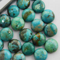 3x3mm to 10x10mm  - Natural Turquoise Round Cabochon Calibrated loose Gemstone