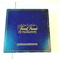 Trivial Pursuit Vintage 1981 Original Master Game Genus Edition Horn Abbot