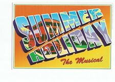 Postcard Summer Holiday the musical 1996 advert unposted  (B4c)