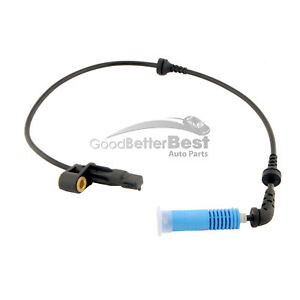 One New MTC ABS Wheel Speed Sensor Front Left 1756 for BMW