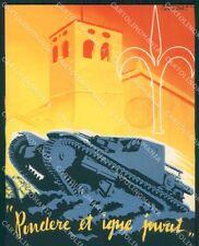 Militari V Batt Carri Assalto Venezian Stefanini Trieste FG cartolina XF1634