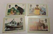 MINT 1979 GB POLICE PHQ MAXI CARD SET OF 4