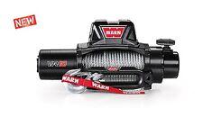 WARN 96810 VR10 10000lb Winch 12V Hawse Fairlead 80' 3/8 Wire Cable Rope
