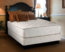 Dream Sleep Exceptional King Size Plush Two-Sided Mattress and Box Spring Set