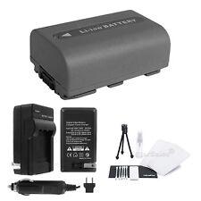 NP-FP50 Battery + Charger + BONUS for Sony DCR-DVD103 DVD105 DVD203 DVD205