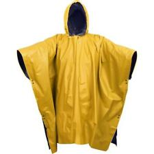 Rothco 3644 Navy Blue/yellow Reversible PVC Poncho