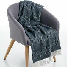 Creswick Australia Alpaca Wool Throw Combo Black