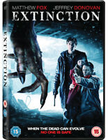 Extinction DVD (2015) Matthew Fox, Vivas (DIR) cert 15 ***NEW*** Amazing Value