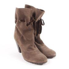 MARC CAIN Stiefeletten Gr. D 38 Braun Damen Schuhe Boots Shoes Leder Stiefel