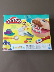 Pack pâte à modeler Playdoh - Doctor drill' n' fill Le dentiste - Hasbro