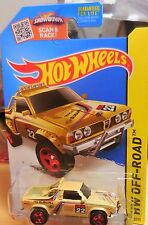 K Mart Exclusive 2015 Hot Wheels Subaru Brat Gold Combine Shipping World Wide