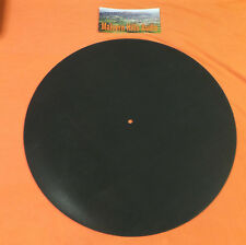 Malvern Audio Black Rubber 188 Gram Turntable Mat - Improve Sound & Damping