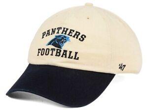 Carolina Panthers NFL 47 Brand Steady Two Tone Adjustable Hat
