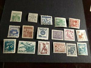 korea stamp mhog collection a1060