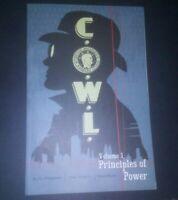 C.O.W.L. vol 1 Principles of Power tpb, Kyle Higgins, Rod Reis