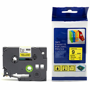 12mm Printer Label Tape Cartridge for Brother P-Touch PT E100 D200 D210 1090