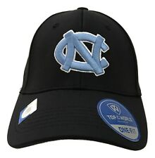 1X Top Of The World Black NC Tarheels Embroidered Logo One Fit Baseball Hat #2