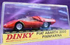 Dinky Toys 1430 Fiat Abarth 2000 scala 1/43