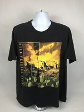 "RARE VTG 1994 Eagles ""Hell Freezes Over"" World Tour Short Sleeve T-Shirt Size XL"