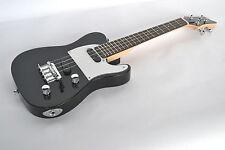 Ténor Ukulélé électrique Corps Solide cordes en acier Twin Pickup Telecaster Guitare Sh