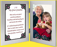 Grandmother Gift Sweet Grandma Poem Frame Mothers Day or Birthday Free Shipping