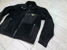 vintage MOUNTAIN HARDWEAR usa MONKEY FLEECE black LARGE jacket POLARTEC