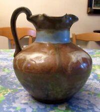 """Louis Lourioux - joli vase en grès, décor """"aux cervidés"""""""