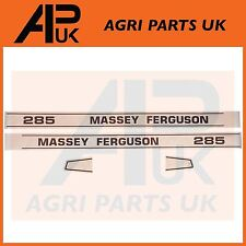 Massey Ferguson 285 Tractor Hood Bonnet Decal Sticker Set MF285